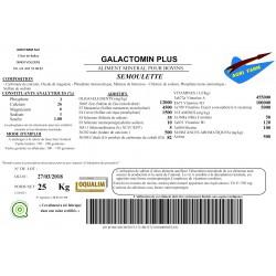 Galactomin Plus 3P/26Ca/6Mg Big Bag  1.000Kg avec levure