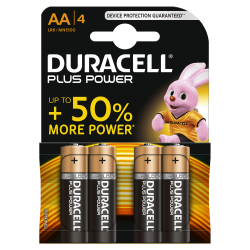 Piles AA Duracel (4pcs)