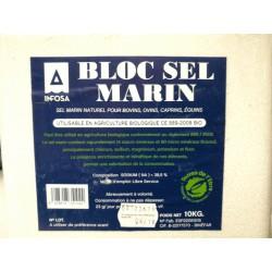 BLOC SEL DE MER 10 kg