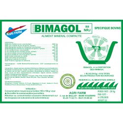 BIMAGOL Bovin (seau 20 kg)