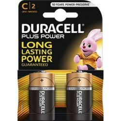 Piles C Duracel (2 pcs)