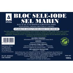 BLOC SEL DE MER + IODE +...