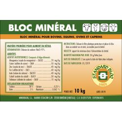 BLOC MINER STANDARD UREE 10 kg
