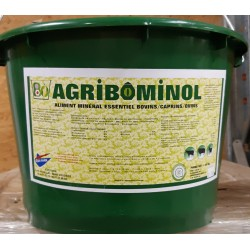 AGRIBIOMINOL  (seau 25 kg) BIO  Promo 20 seaux + 25l huile de foie de morue